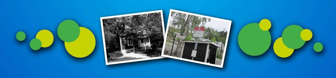 Bilder på gamla hus