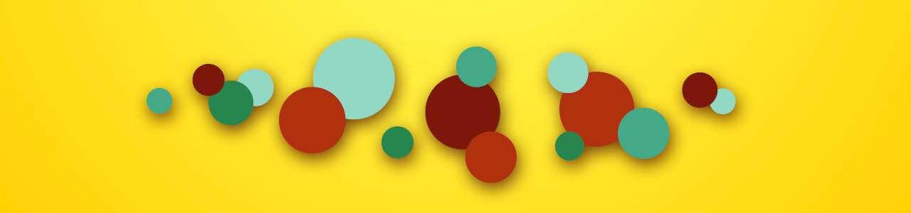 Bild på färgglada bubblor